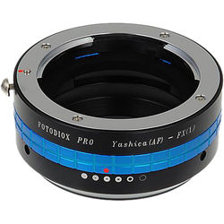 FotodioX Pro Mount Adapter with Aperture Control Dial for Yashica 230-AF Lens to Fujifilm X-Mount Camera