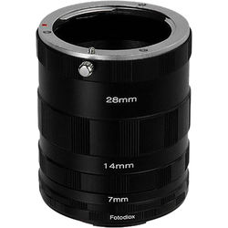 FotodioX Macro Extension Tube Set for Fujifilm X-Series Cameras: for Extreme Close-Up Photography