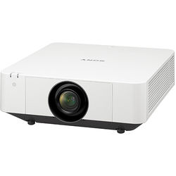 Sony 6100-Lumens WUXGA Laser Light Source Projector (White)
