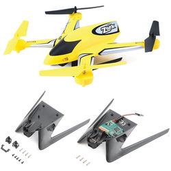 BLADE Zeyrok BNF Quadcopter with Camera and Landing Gear (Yellow)