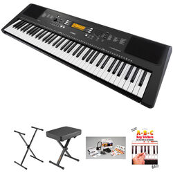 Yamaha PSR-EW300 76-Key Portable Keyboard Essential Bundle