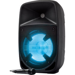 """ION Audio Pro Glow 10 Portable 10"""" 2-Way 200W All-In-One PA System with LED Lights"""