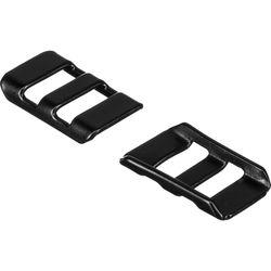 EDDYCAM Stainless Steel Strap Clips (Black)
