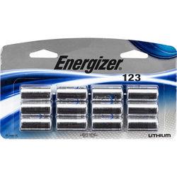Energizer 123 Lithium Batteries (3V, 1500mAh, 12-Pack)