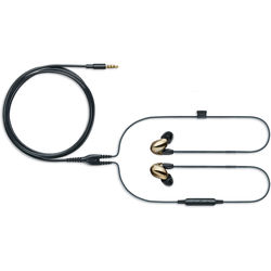 Shure SE846 Sound-Isolating Earphones with Bluetooth and Wired Accessory Cables (Bronze)