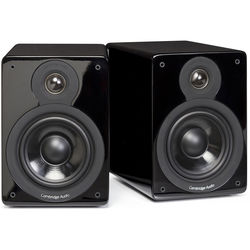 Cambridge Audio Minx XL 2-Way Bookshelf Speakers (Gloss Black, Pair)