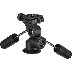 Giottos MH5012 3-Way Pan/Tilt Head with Quick Release Plate