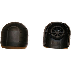 Telesteps Bumpers12.5 Top Bumpers for Ladders with Round Side Tubes (Pair)