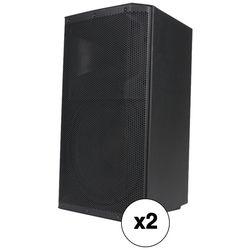 "American Audio ATX-15W 15"" Active 2-Way Speaker Kit (Pair)"