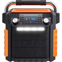 ION Audio Job Rocker Max Bluetooth All-Weather Portable PA System (Orange)