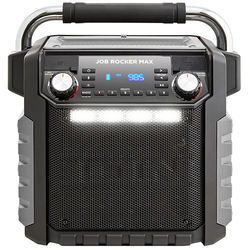 ION Audio Job Rocker Max Bluetooth All-Weather Portable PA System (Black)