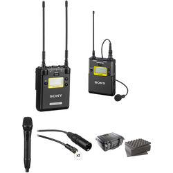 Sony 2-Channel Receiver with Bodypack and Handheld Microphone Kit (Ch. 25 to 36)