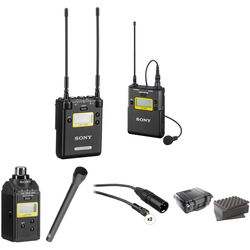 Sony 2-Channel Receiver with Bodypack, Plug-on Transmitter & Handheld Mic Kit (Ch: 25 to 36)