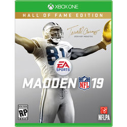 Electronic Arts Madden NFL 19 (Xbox One, Hall of Fame Edition)