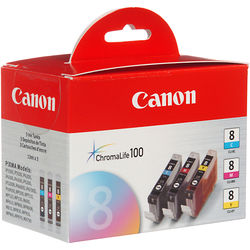 Canon CLI-8 Ink Tank 3-Pack