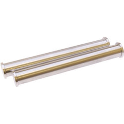 Cavision Pair Of Lightweight Aluminum Rods With End Caps 15Mm Diameter, 12Cm Long Each (Not Anodized)