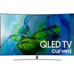 "Samsung Q8C-Series 55""-Class HDR UHD Smart Curved QLED TV"