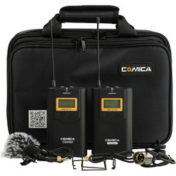 Comica Audio CVM-WM100 Camera-Mountable UHF Wireless System (520.0 to 534.1 MHz)