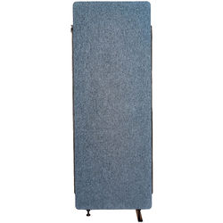 Luxor Reclaim Acoustic Room Divider Expansion Panel - Pacific Blue