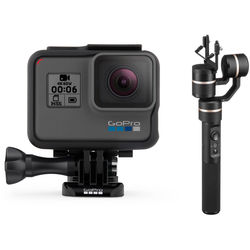 GoPro HERO6 Black with Feiyu G5 Gimbal Stabilizer