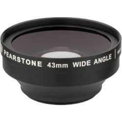 Pearstone DVP-WA07-43 0.7x Wide Angle Lens Attachment