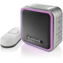 Honeywell Series 5 Portable Wireless Doorbell with Halo Light & Push Button