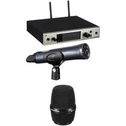 Sennheiser G4 300 Series Wireless Handheld 835 Microphone Bundle Kit, Aw+: (470 to 558 MHz)