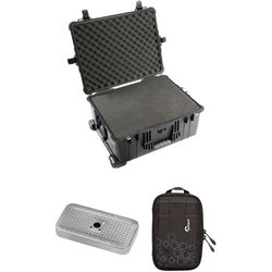 Pelican 1610 Case with Foam Set, Accessory Case, Desiccant Gel (B&H Kit)