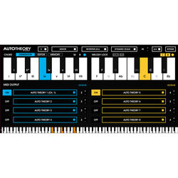 Mozaic Beats AutoTheory 4 - MIDI Remapping Software (Download)