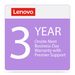 Lenovo 3-Year Onsite Next Business Day Warranty with Premier Support