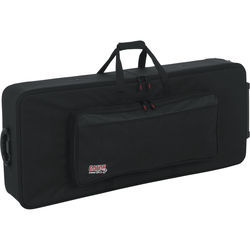 Gator Cases GK-61 Keyboard Case with Wheels for 61-Note Keyboard