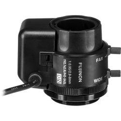"Fujinon 1/3"" CS Mount 2.9-8mm f/0.95 Auto Iris Lens with Long Cable"