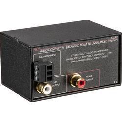 RDL TX-A2 Mono Balanced to Unbalanced Signal Converter
