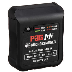 PAG PAGlink Micro Charger with Wall, USB, & Car Adapters (V-Mount)