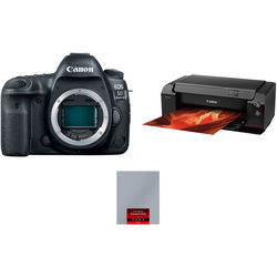 Canon EOS 5D Mark IV with Canon Log and Inkjet Printer Kit