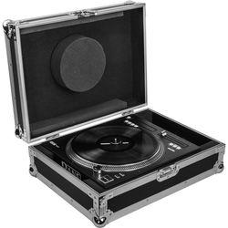 Odyssey Innovative Designs Flight Zone Rane Twelve Motorized Turntable DJ Battle Controller Case (Silver/Black)
