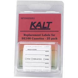 Kalt DX100 Cassette Labels (Pack of 25)