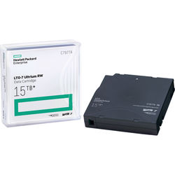 HP LTO-7 Ultrium 15TB RW Data Cartridge