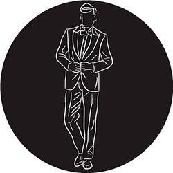 Rosco Groom in Suit B/W Wedding Glass Gobo (A Size)