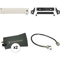 Sennheiser Dual G4 ASA 214-UHF Active Antenna Splitter Bundle 4 Kit