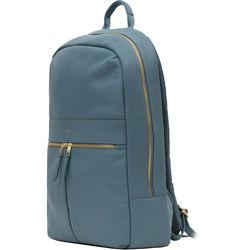 """KNOMO USA 14"""" Beaux Laptop Backpack (Stonewash Blue)"""