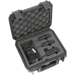 SKB iSeries Waterproof Case for Dual Sony UWP Wireless Mic System