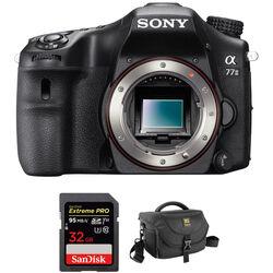 Sony Alpha a77 II DSLR Camera Body Accessory Kit