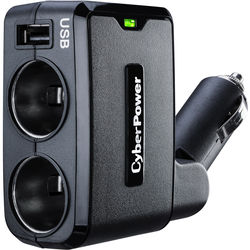 CyberPower CPTDC1U2DC DC and USB Car Charger