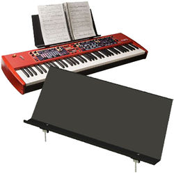 Nord Music Stand V2 for Stages 76 and 88, Pianos, Electros, and C1/C2/C2D