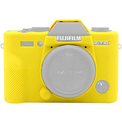 Amzer Soft Silicone Protective Case for Fujifilm X-T20 (Yellow)