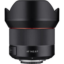 Rokinon AF 14mm f/2.8 Lens for Nikon F