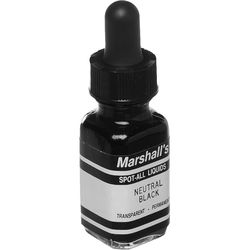 Marshall Retouching Spot-All Liquid B&W Retouching Dye (Neutral Black, 1/2 oz)