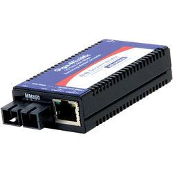 IMC Networks Giga-MiniMc 10/100/1000 Mbps Gigabit Fiber Converter