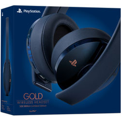 Sony PlayStation Gold Wireless Headset (500 Million Limited Edition)